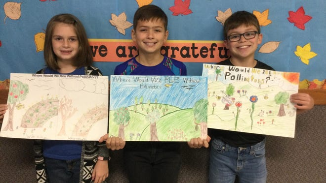 Domenico Cooper, Kai Leinbach and Gabriel Leinbach, of Berean Academy, were named winners in the Butler County Conservation District's 2020 Poster/Limerick Contest.