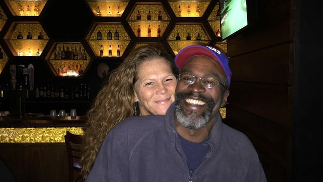 Topekan Eric Newman, on the right, was sentenced to 12 years in prison Wednesday for second-degree murder in the January 2018 killing in a cruise ship of his longtime girlfriend, Tamara Tucker, on the left.