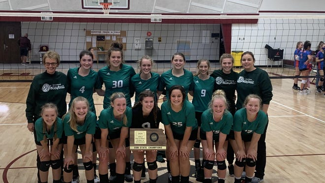 The Hutchinson Central Christian volleyball team won the sub-state championship in Burrton on Saturday to advance to the quarterfinals. The Cougars will travel to Moran-Marmaton Valley High School on Tuesday.
