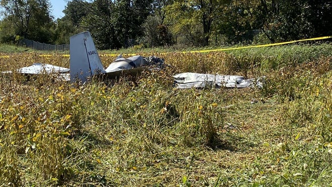 The National Transportation Safety Board and Federal Aviation Administration are investigating a plane crash in Zeeland Township that killed two Zeeland residents on Saturday.