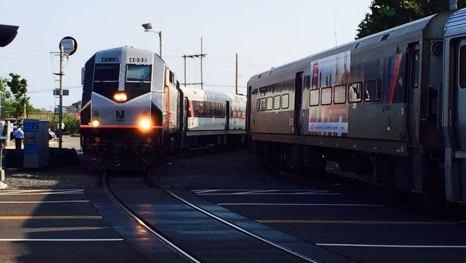 NJ Transit has proposed a 9 percent fare increase. In this file photo, an NJ Transit train pulls in to the Bay Head station.