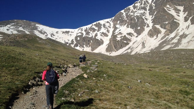"There are more than 50 ""14ers"" in Colorado."