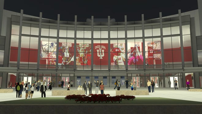 IU Assembly Hall rendering. Groundbreaking ceremonies for the for the future Simon Skjodt Assembly Hall were April 7 2015. Demolition, construction and renovations on Assembly Hall will continue through Fall, 2016.