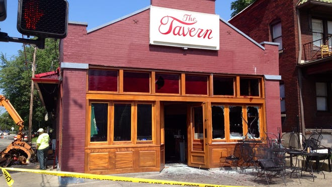 The Tavern, 1532 S. Fourth St. caught fire around 3:30 a.m. Tuesday