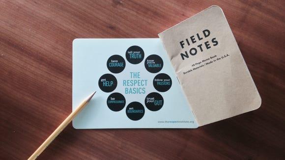 The Respect Basics card