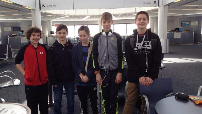 Leaving for Spain