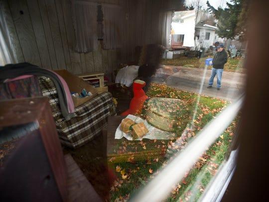 Bob Dougherty, a long-time resident, has lived next