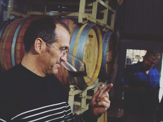 French winemaker-grower Louis Barruol makes wine for Château de Saint Cosme in Gigondas, France, and is co-owner and head winemaker for Forge Cellars in the Finger Lakes.