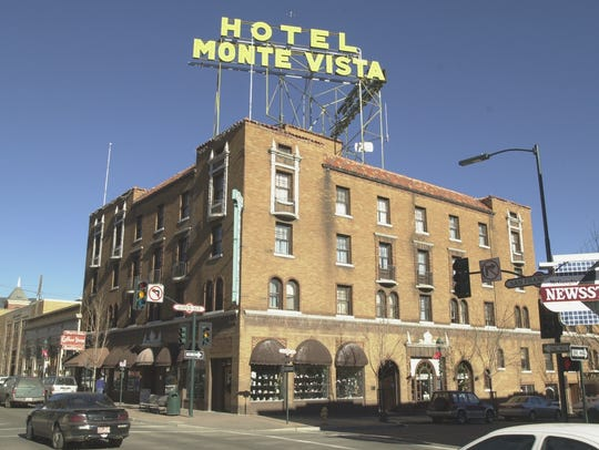 The historic Hotel Monte Vista has a great location