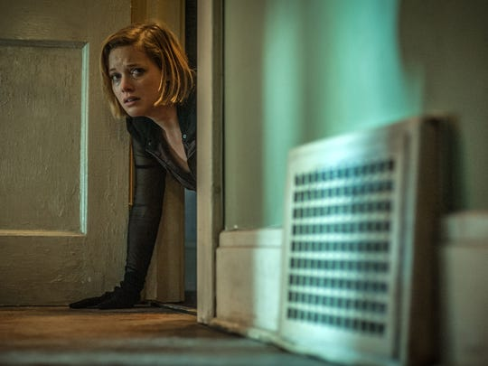 """This image released by Sony Pictures shows Jane Levy in a scene from """"Dont Breathe."""""""