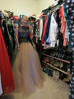 ABC7 anchor Amy Sedlacek  attends numerous functions throughout the year and rents gowns and party dresses, a more budget-friendly way broaden her wardrobe choices.