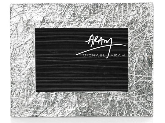 This 5-by-7-inch frame by Michael Aram is $96 at Neiman