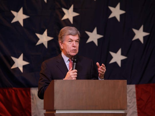 The Greene County Republican Party gathered for its Lincoln Days. Senator Roy Blunt speaks.