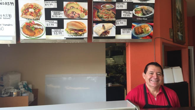 Salvador Larios opened Taco Grill in downtown Salem after owning Salvador's Bakery in Woodburn since 1982.