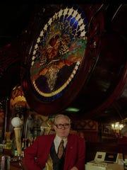 Rudy Stober at Stober's Lounge, May 21, 1996.