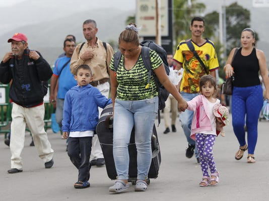 Colombia Venezuelan Child Exodus