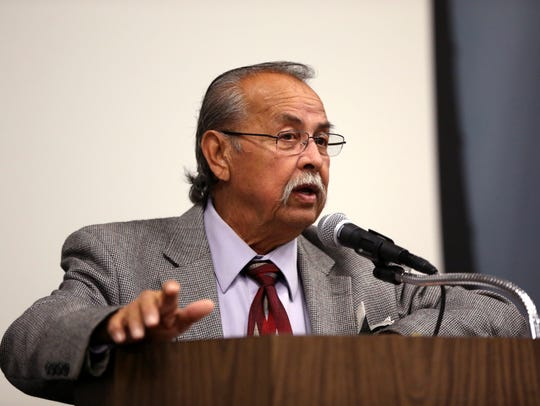 "Reynaldo ""Ray"" Madrigal, a candidate for mayor in the"