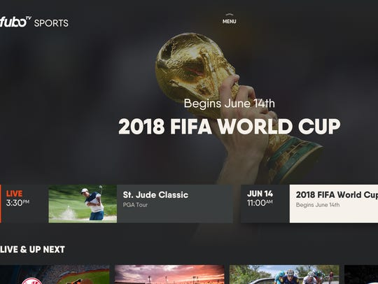 Subscription streaming service fuboTV has many ways