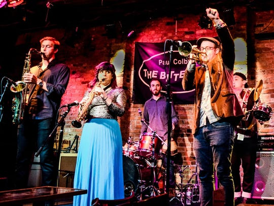 The Dingonek Street Band will perform Friday at Atlas