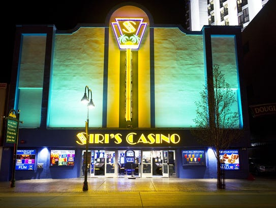 Siri's Casino is shown in downtown Reno in August 2014.