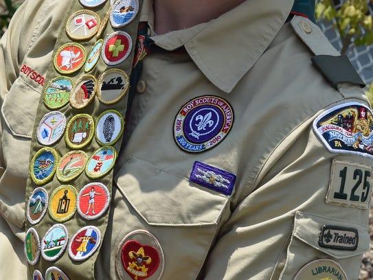 Chandler Schur is now ranked an Eagle Scout. Schur
