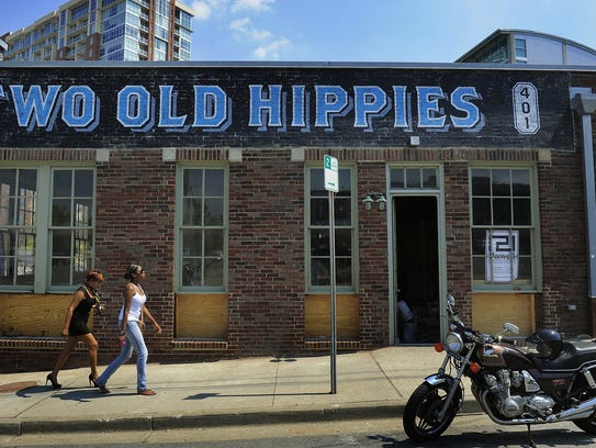 Two Old Hippies is an instrument and clothing boutique