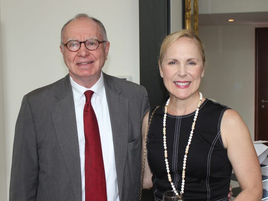 Bill Armistead and Tracy Frazier attend the 2018 Swan