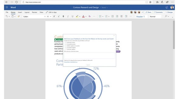 word office 2018