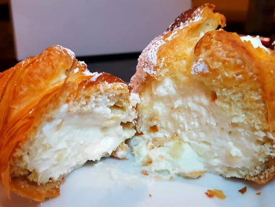 The pastry gets its name from its lobster tail shape