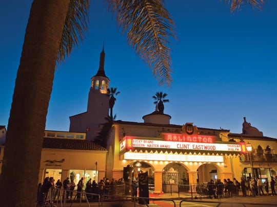 The historic Arlington Theatre is the main stage for more than 200 films at the 31st annual Santa Barbara Film Festival.