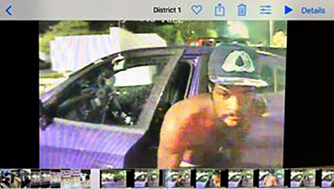 Suspect in an attempted auto theft.
