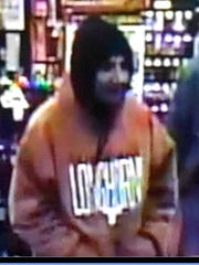 A man is accused of robbing a Sally Beauty Supply store