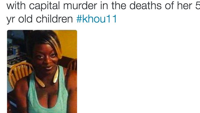 Thirty-year-old Sheborah Thomas is accused of murdering two of her children.