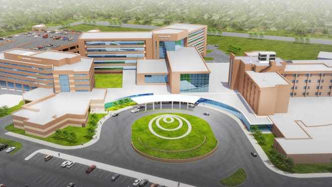 The Community Hospital Network announced on Thursday, May 14, 2015, that it will build a new $175 million Community Hospital East facility at that site.