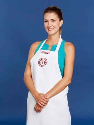 Jenny Cavellier, a 25-year-old from Cincinnati, has made it through to the top 17 on FOX's cooking competition, MasterChef.