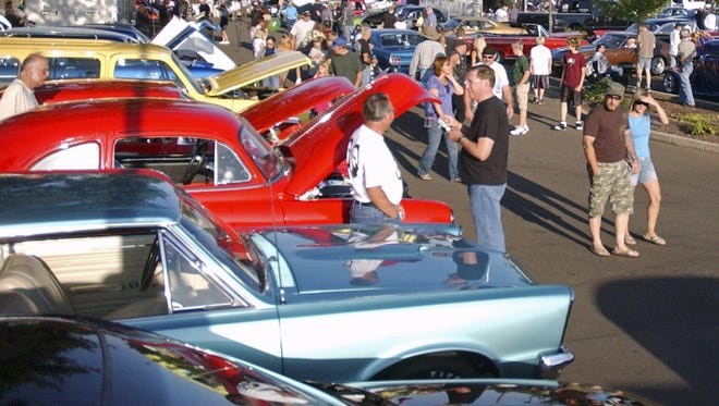Night of Fire Car Show returns with a car display at 3 p.m. and a fire show at 9 p.m. Friday, Aug. 5, at People's Church, 4500 Lancaster Drive NE.