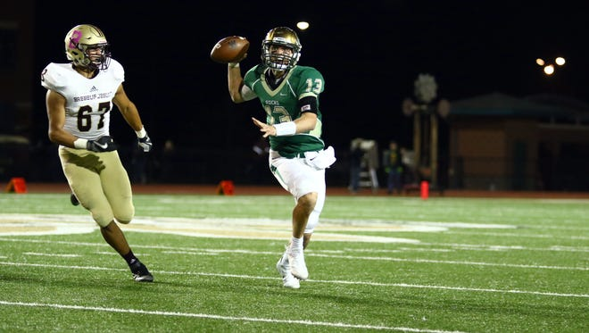 Class 5A power Westfield was able to hold off Brebeuf Jesuit Friday night.