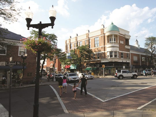 East Broad and Elm Streets in Westfield are popular