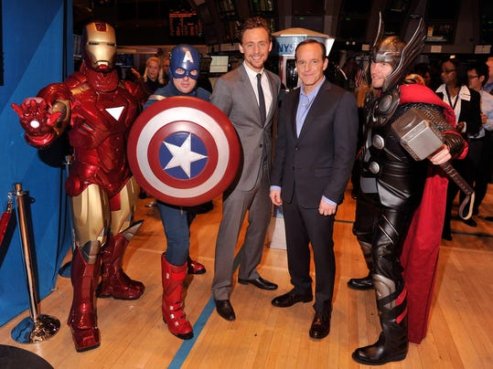 "Marvel Studios Celebrates Release Of ""Marvel's The Avengers"" At The New York Stock Exchange"