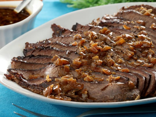 What's your brisket secret? Go pure and simple, or jazz it up for Passover