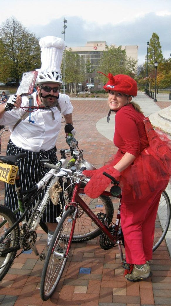 Asheville on Bikes hosts the annual Pumpkin Pedaller