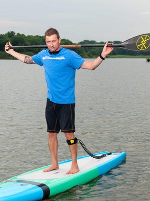Corey Davis founded the Ocean Games in 2014 to raise awareness and money for the Johns Hopkins Brain and Stroke Rehabilitation Program. The program rehabilitated him following a traumatic brain injury in 2007.