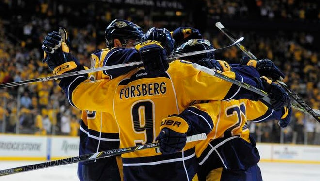 The Predators have clinched a playoff berth, but have much loftier goals going into the postseason.