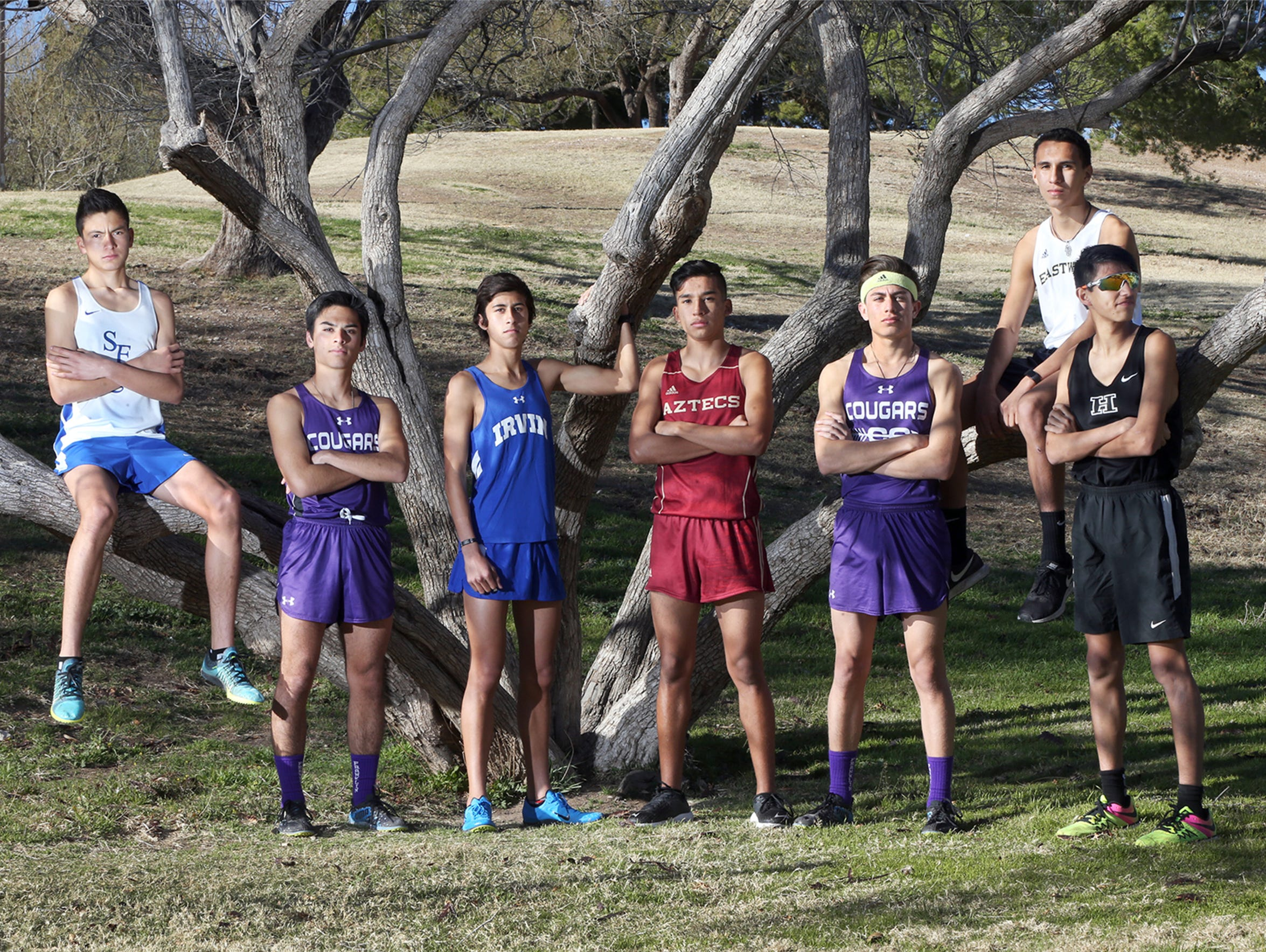 The athletes on the El Paso Times boys All City Cross