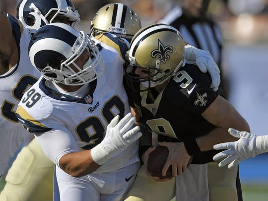 The Rams and Saints will play Sunday in the NFC Championship Game.