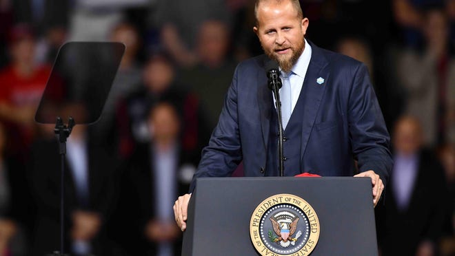 Brad Parscale, a Topeka native, was replaced Wednesday as President Donald Trump's campaign manager. He will remain in charge of digital strategies and act as a senior adviser to the campaign.