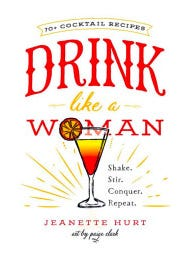 Author Jeanette Hurt talks cocktails on Monday.