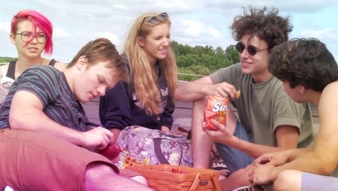 """We Are Now,"" the debut film by teenage filmmakers Heather Mikles and Derek Pinchot, will debut next week in Wilmington."