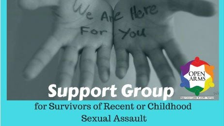Survivors of Recent or Childhood Sexual Assault support group.