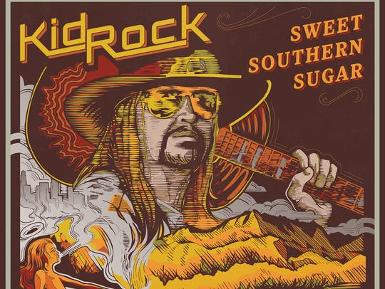 "Album cover for Kid Rock's ""Sweet Southern Sugar"""